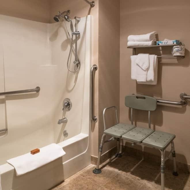 Accessible Queen Bath